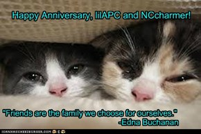 Happy Anniversary, lilAPC and NCcharmer!
