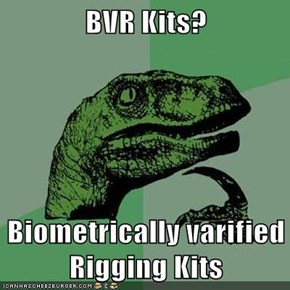 BVR Kits?  Biometrically varified Rigging Kits