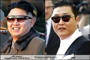 Kim Jong-un Supreme Leader of North Korea Totally Looks Like psy