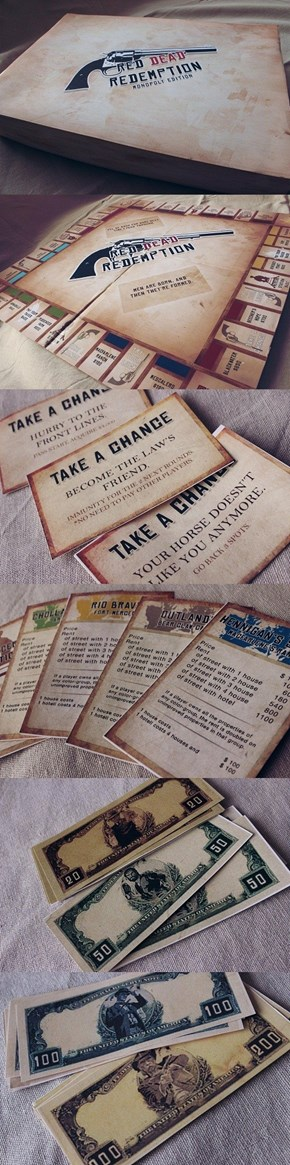Would You Buy a Red Dead Redemption Version of Monopoly?