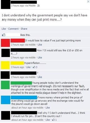 Why Not Just Print More Money?
