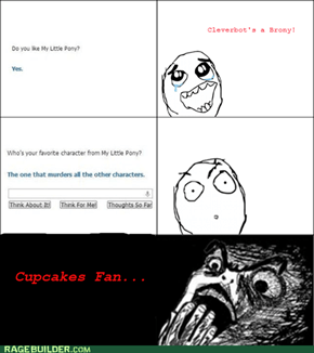 Cleverbot likes Cupcakes?