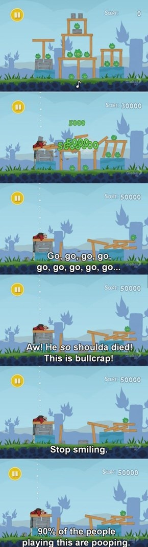 Peter Griffin Takes On Angry Birds