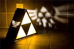 This is an Epic Triforce Lamp