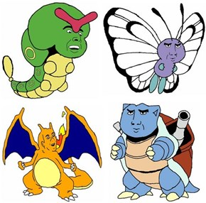 Single Topic Blog of the Day: Pokemons as Nic Cage