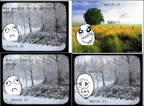 Trolled by Mother Nature