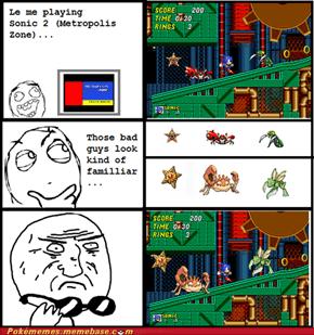 Dr. Robotnik invented Pokémon!!