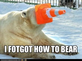 I FOTGOT HOW TO BEAR