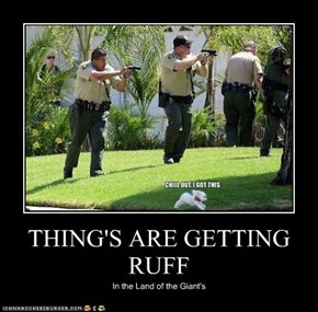 THING'S ARE GETTING RUFF