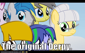 The original Derpy.
