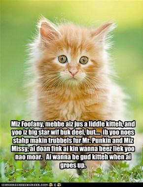 Tiny Tina confronts Foofany!!!