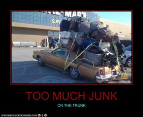 TOO MUCH JUNK