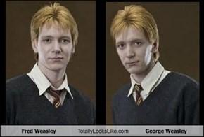 Fred Weasley Totally Looks Like George Weasley