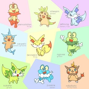 What if the Starters Could Be Any Starting Type?
