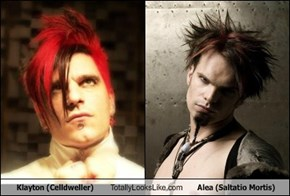 Klayton (Celldweller) Totally Looks Like Alea (Saltatio Mortis)