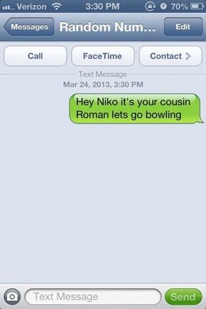 NOT NOW ROMAN