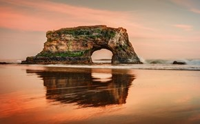 The Arch at Santa Cruz, California