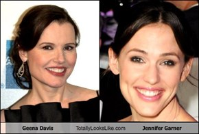 Geena Davis Totally Looks Like Jennifer Garner