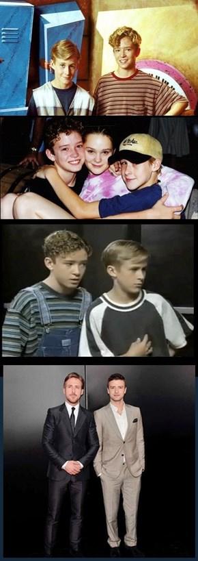 Justin and Ryan, BFFs