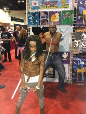 Michonne and Walker