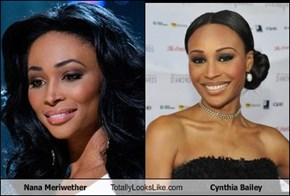 Nana Meriwether Totally Looks Like Cynthia Bailey