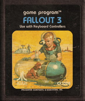 This is What Modern Video Games Would Look Like as Atari Games