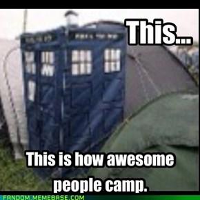 TARDIS Tent