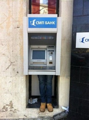 This ATM Looks a Bit Shady