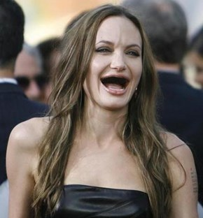 The Lastest Unsettling Photoshopping Trend: Actresses Without Teeth