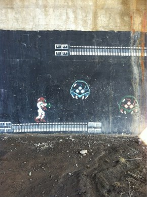 Gritty Metroid Graffiti