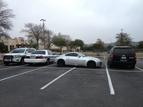 Park Like a D-Bag, Get Trolled by the Police