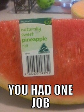 That's a Funny Looking Pineapple