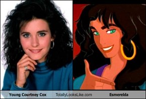 Young Courtney Cox Totally Looks Like Esmerelda
