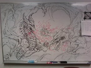 Whiteboard Dragons WIN