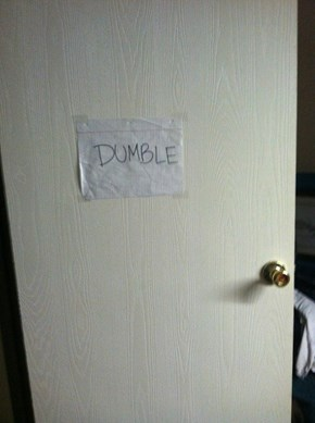 Your a Wizard, Door.
