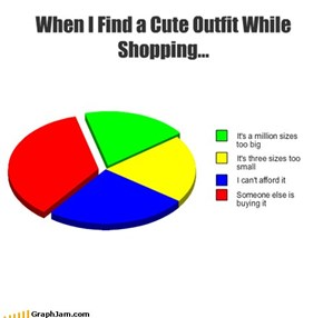 When I Find a Cute Outfit While Shopping...