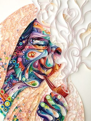 More Quilled Paper Designs From Yulia Brodskaya