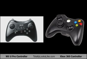 Wii U Pro Controller Totally Looks Like Xbox 360 Controller