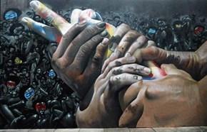 Street Art Meets Fine Art