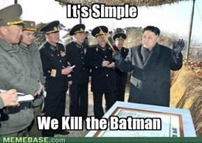 Plotting Kim Jong Un