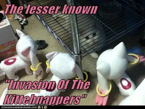 """The Lesser Known  """"Invasion Of The Kittehnappers"""""""