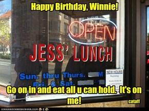 Have a delicious celebration!