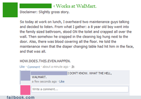 Just another day at WalMart