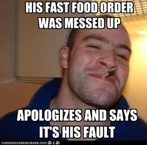 Fast Food Mess Up