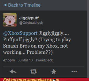 Because Jigglypuff is a Troll