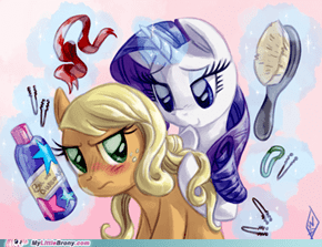 AJ and Rarity