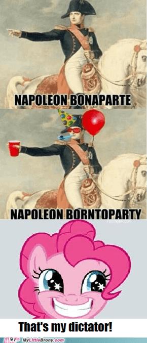 Ooh ooh, a party!