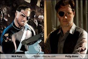 Nick Fury Totally Looks Like Philip Blake