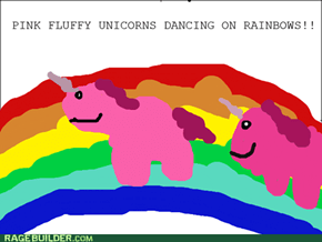 PINK FLUFFY UNCICORNS