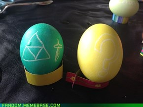 Zelda and Mario eggs!